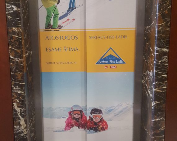 Ski in Austria Serfaus Fiss Ladis advertising campaign