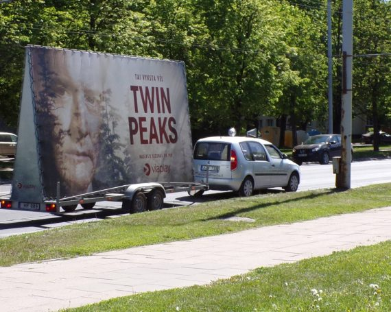 legendary TWIN PEAKS continuation advertising trailer