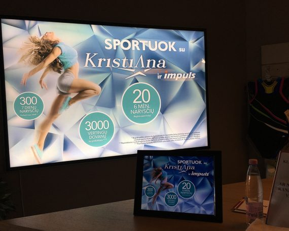 Kristiana clients campaign in Impuls gyms