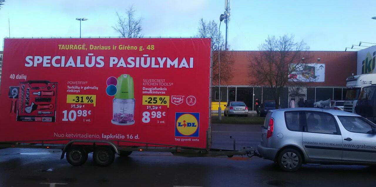 Lidl Tauragėje 1