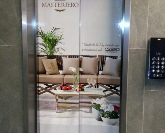 Masterjero projects ad in business centers