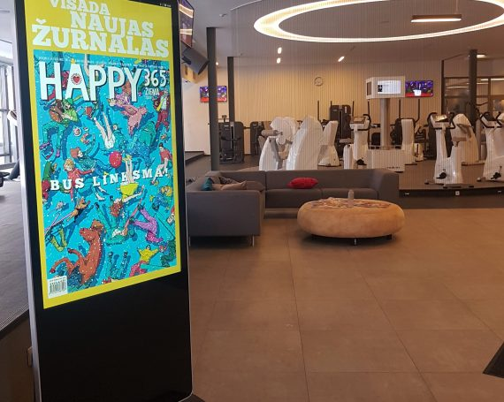 Happy 365 advertising in Impuls video screens